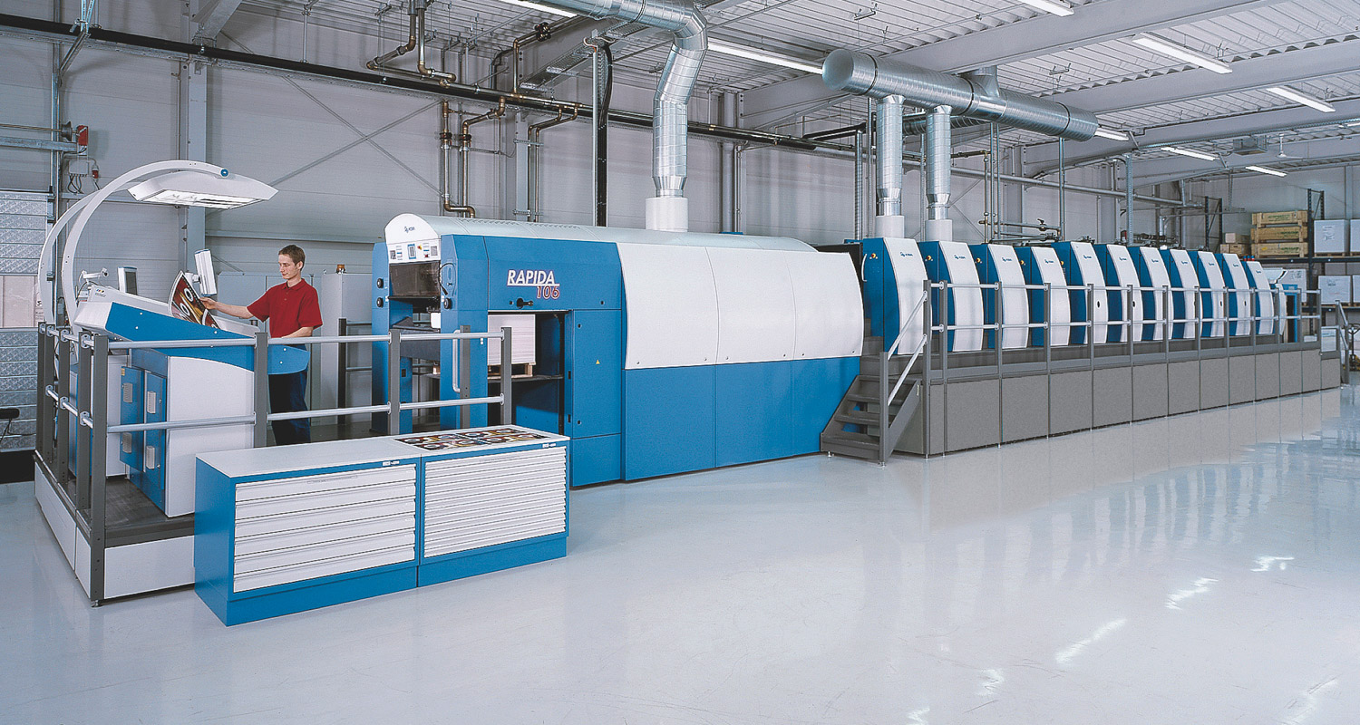 In April Unipack in Bulgaria will take delivery of a six-colour Rapida 106 with two coaters plus dedicated plate-cylinder drives for printing cartonboard